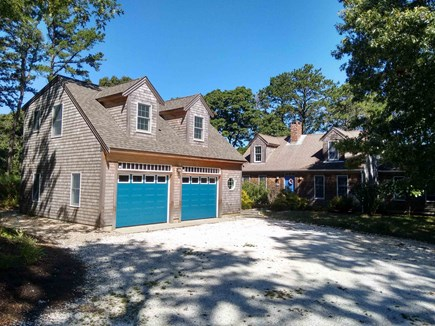 Wellfleet Cape Cod vacation rental - House and garage with loft above