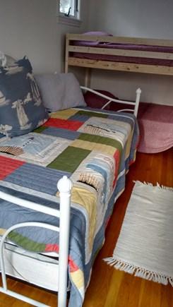 Wellfleet Cape Cod vacation rental - Bunk beds in house loft