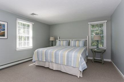 East Orleans Cape Cod vacation rental - Second floor king bedroom with bath on hall.