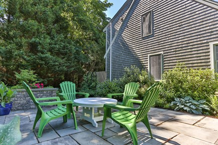 East Orleans Cape Cod vacation rental - Private patio area.