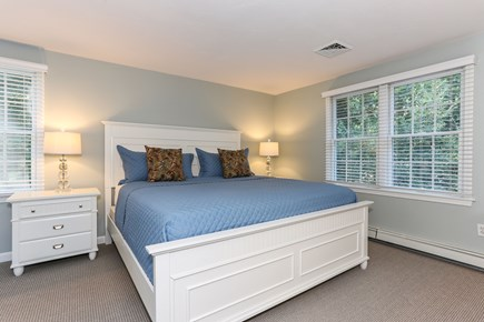 East Orleans Cape Cod vacation rental - Upstairs king bedroom with bath on the hall.