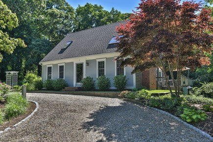 East Orleans Cape Cod vacation rental - Great house with large circular drive.