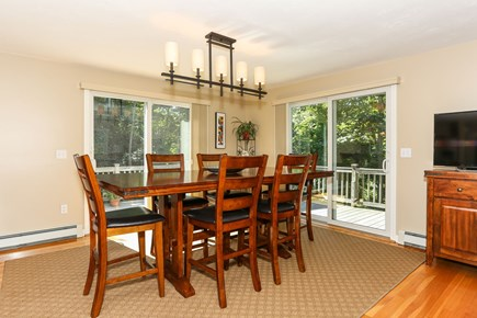 East Orleans Cape Cod vacation rental - High top dining table.