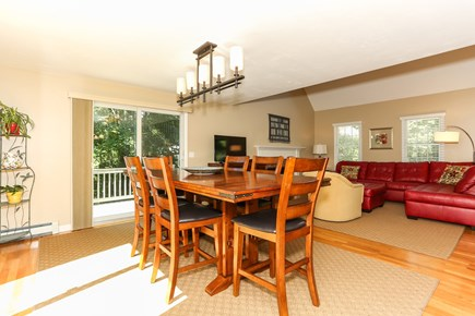 East Orleans Cape Cod vacation rental - Spacious and sunny dining area.