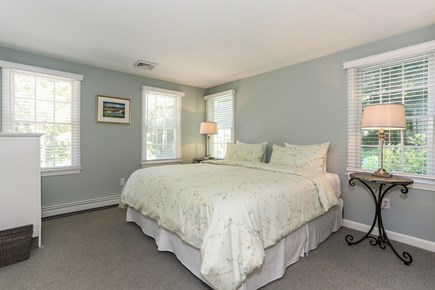 East Orleans Cape Cod vacation rental - Beautiful first floor king bedroom with bath on hall.