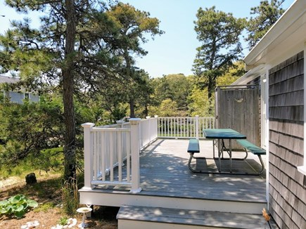 South Chatham Cape Cod vacation rental - Back Deck