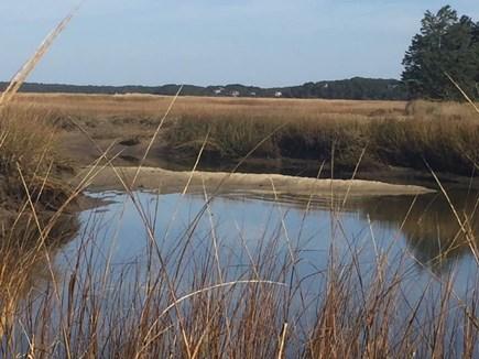 Eastham Cape Cod vacation rental - Tidal Marsh in Fall overlooking Audubon