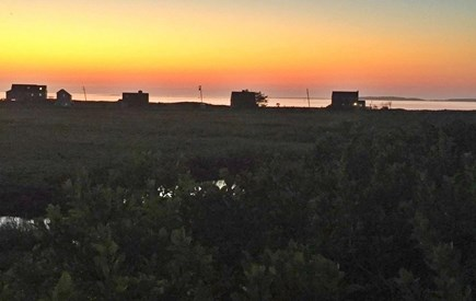 Eastham Cape Cod vacation rental - Sunset overlooking Cape Cod Bay