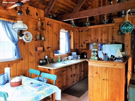 East Sandwich Cape Cod vacation rental - View of the kitchen
