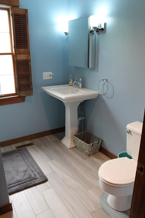 Mashpee Cape Cod vacation rental - Downstairs bathroom (shower)