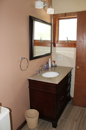 Mashpee Cape Cod vacation rental - Upstairs bathroom (shower)