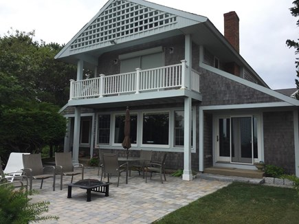 Mashpee Cape Cod vacation rental - Rear of house and patio