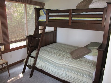 Mashpee Cape Cod vacation rental - Twin over full bunkbed room off living room (1st floor)