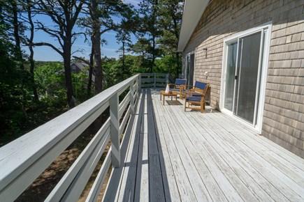 Wellfleet Cape Cod vacation rental - West side of deck