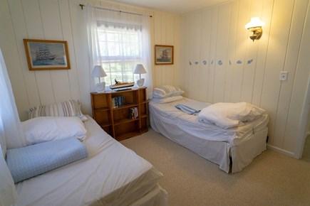 Wellfleet Cape Cod vacation rental - Northeast bedroom (two twins)