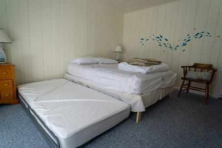 Wellfleet Cape Cod vacation rental - Northwest bedroom (queen bed with twin trundle)