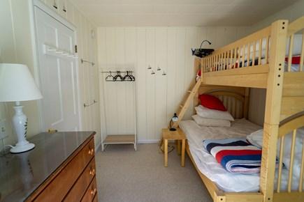 Wellfleet Cape Cod vacation rental - Southwest bedroom (twin-over-full bunk bed)