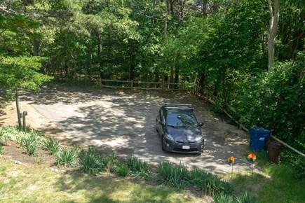 Wellfleet Cape Cod vacation rental - Parking area