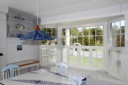 Harwich Cape Cod vacation rental - Breakfast nook