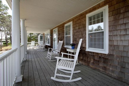 Harwich Cape Cod vacation rental - Relaxing porch