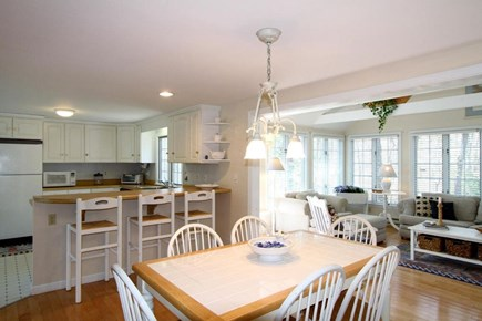 Harwich Cape Cod vacation rental - Dining area view