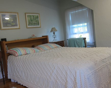 Falmouth Heights Cape Cod vacation rental - Double Bedroom view of water