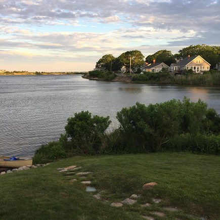 Falmouth Heights Cape Cod vacation rental - Backyard, Steps to Pond beach Paddle Board, Kayak, canoe