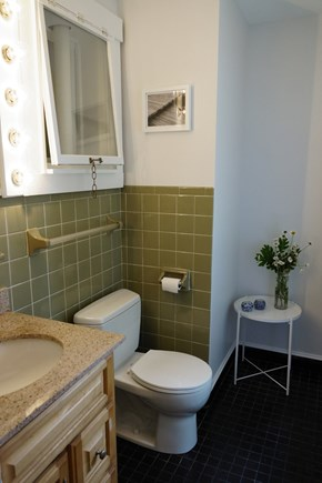 Truro Cape Cod vacation rental - Ensuite half bath attached to queen room