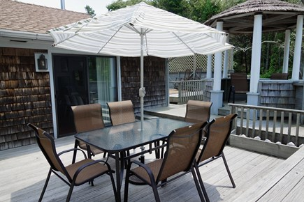 Truro Cape Cod vacation rental - Great back deck for sunning or outdoor meals