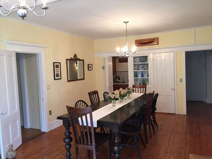 Harwich Port Cape Cod vacation rental - Large Dining Room