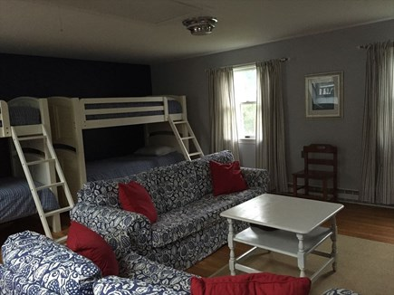 Harwich Port Cape Cod vacation rental - Second Floor Bunk Bedroom (4 twins)