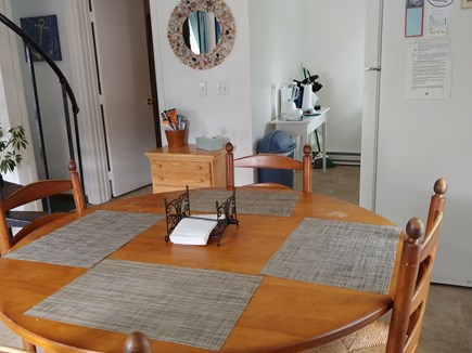 East Sandwich Cape Cod vacation rental - Dining room table