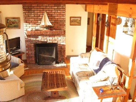 South Chatham Cape Cod vacation rental - Enjoy panoramic views of Taylor's Pond from the living room