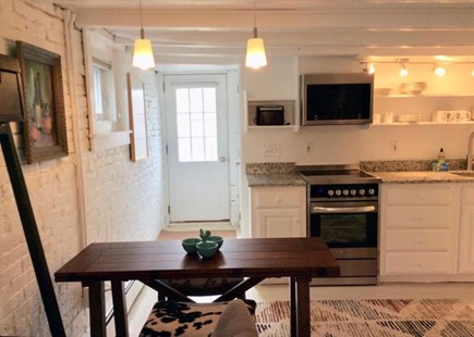 Provincetown Cape Cod vacation rental - Kitchen, eating area