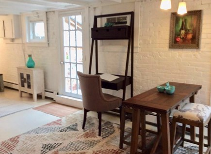 Provincetown Cape Cod vacation rental - Living/Dining