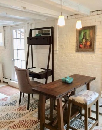 Provincetown Cape Cod vacation rental - Desk, eating area