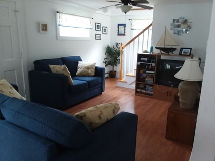 Wellfleet Cape Cod vacation rental - Living room with TV, Internet, Wii, DVD player