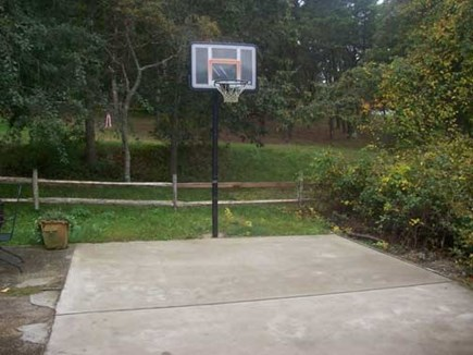 Wellfleet Cape Cod vacation rental - Back yard basketball for more family fun