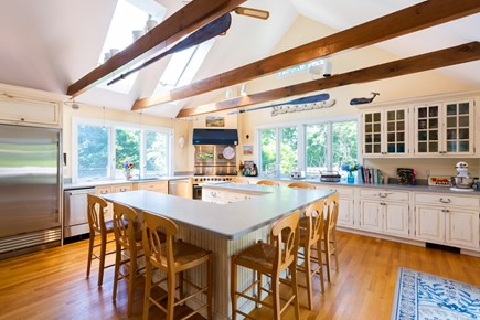 Chatham Cape Cod vacation rental - Gourmet kitchen with views over golf course and tennis court