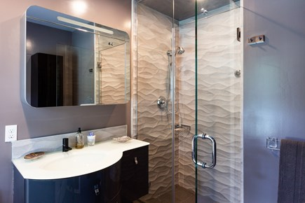 Chatham Cape Cod vacation rental - Main level master bath with steam shower