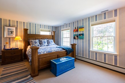 Chatham Cape Cod vacation rental - Upstairs master suite with king bed, dressing room & private bath