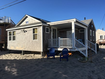 Plymouth MA vacation rental - Porch with fully enclosed shower