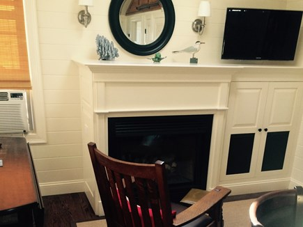 Plymouth MA vacation rental - Living Room with Gas Fireplace, High end surround sound.