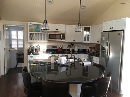 Plymouth MA vacation rental - Fantastic Kitchen, built-in wine cooler, Keurig Coffee maker.