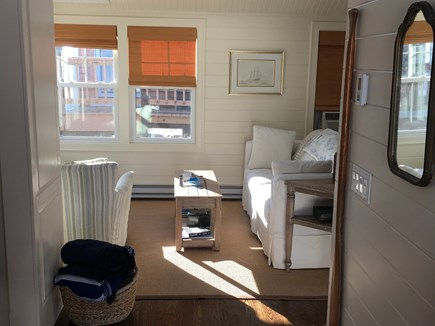 Plymouth MA vacation rental - Living Room with Pull-out Sofa