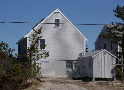 Sandwich, Spring Hill Beach Cape Cod vacation rental - Road Side View