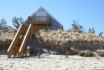Sandwich, Spring Hill Beach Cape Cod vacation rental - Stairway to the beach
