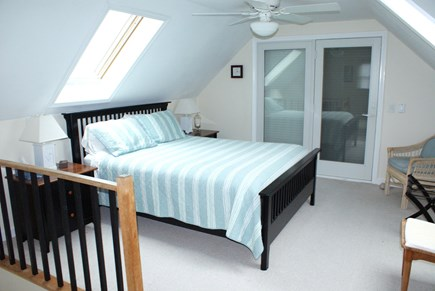 Sandwich, Spring Hill Beach Cape Cod vacation rental - Master Bedroom/ 3rd level