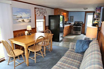 Sandwich, Sagamore Beach Cape Cod vacation rental - Dining area opens to Kitchen.