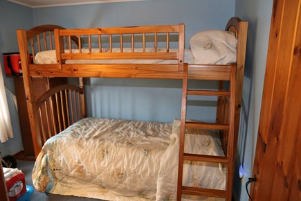 Sandwich, Sagamore Beach Cape Cod vacation rental - Bedroom with Bunks.
